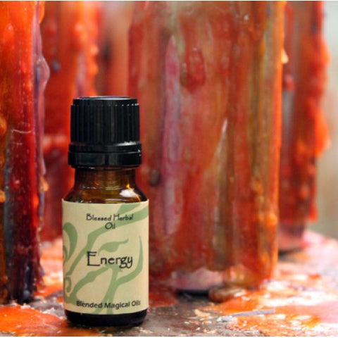 Energy Blessed Herbal Oil - Cast a Stone