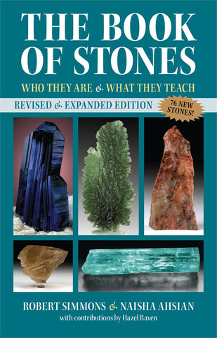 The Book of Stones - NEW Revised & Expanded Edition - by Robert Simmons & Naisha Ashian - Cast a Stone