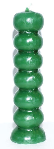 Seven Knob Candles asst colors available
