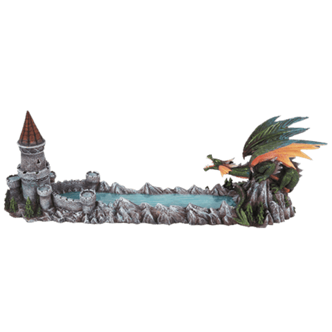 Castle Causeway Dragon Incense Holder