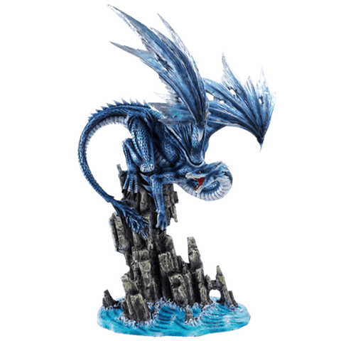 Rage of the Water Dragon Statue