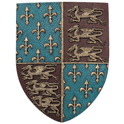 Medieval Shield Plaque