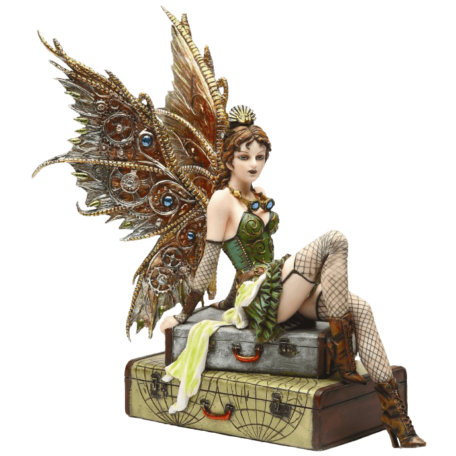 Steampunk Fairy Statue