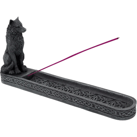 Wolf Incense Burner