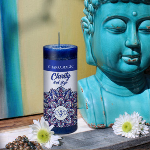 Third Eye Chakra- Clarity Candle