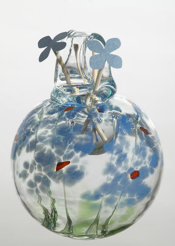 Blossom Scents Diffuser -Memory- hand blown Art Glass Ornament