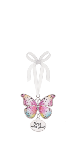 Butterfly Ornament - Free your Spirit