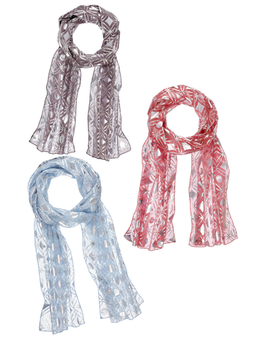 Pattern Play - Scarf - 3 Styles to choose from