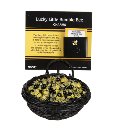 Lucky Little Bumble Bee Charm
