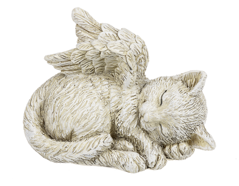 Angel Cat Figurine