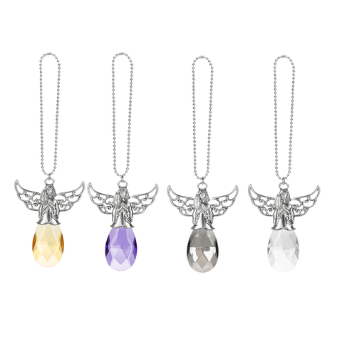 Suncatcher Angel Car Charms