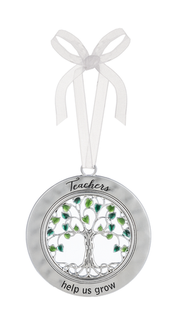 Tree of Life Ornament - Teachers Help Us Grow
