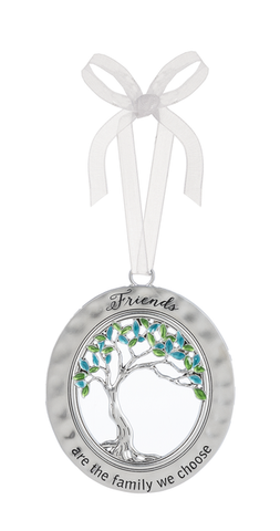 Tree of Life Ornament - Friends are the Family we Choose