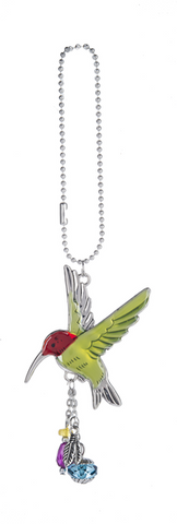Car Charm - Hummingbird