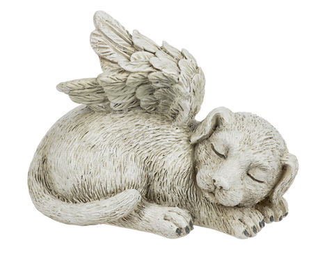 Angel Dog Figurine
