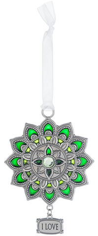 Ornament - I Love - Heart Chakra