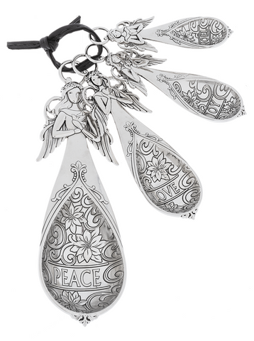 Measuring Spoons - Angels (4 pc. set)
