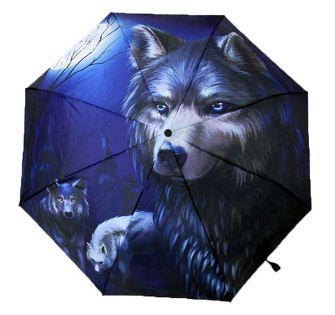 Wolf Umbrella - Cast a Stone
