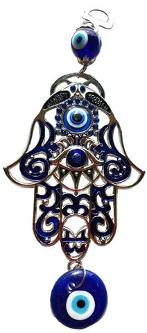 Hamsa Hand Evil Eye wall hanging