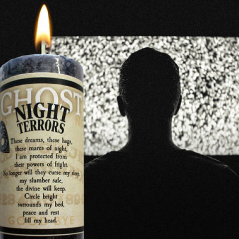 Night Terror Limited Edition Ghost Candle