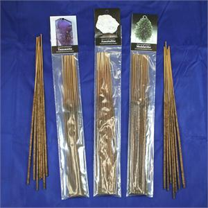 Essential Oil Gemstone Incense Sticks: Danburite