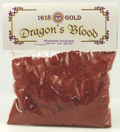 Dragons Blood powder incense 1oz