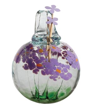 Blossom Scents Diffuser -Best Wishes- hand blown Art Glass Ornament