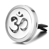 Om Car Diffuser Aromatherapy Locket
