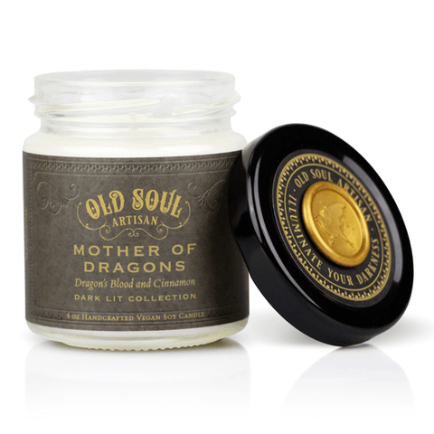 Mother Of Dragons Soy Candle - Literature Inspired Gift 4 oz