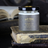Book Of Spells Soy Candle - For Book Lovers 4 Oz