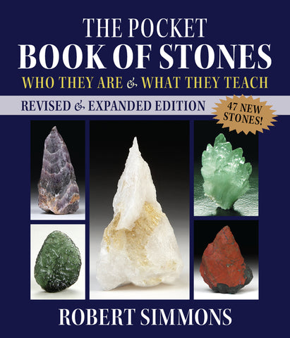 The Pocket Book of Stones, Revised Edition: Who They Are and What They Teach By Robert Simmons - Cast a Stone