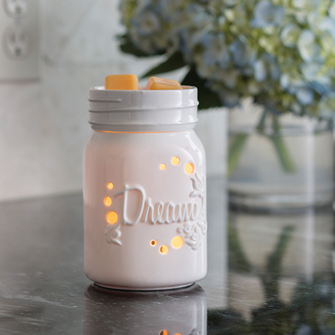 Dream Mason Jar Illumination Wax Melt Warmer
