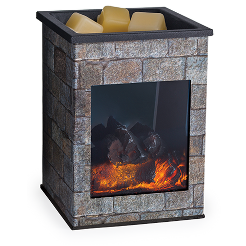 Hearthstone Glass Illumination Wax Melt Warmer