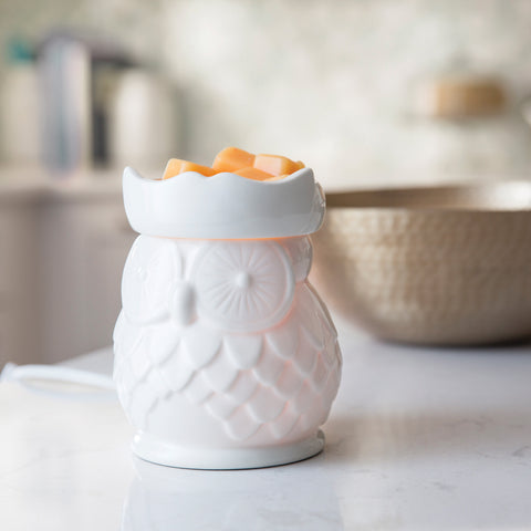 Porcelain Owl Wax Melt Warmer