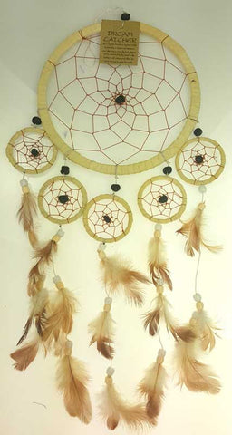 Tan Dreamcatcher - 6 1/2""