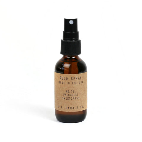 NO. 19: PATCHOULI SWEETGRASS - ROOM SPRAY