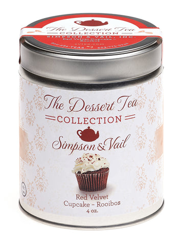 Red Velvet Cupcake Tisane Tea
