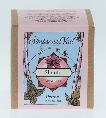 Shanti - Yoga Herbal Tea - 3oz box