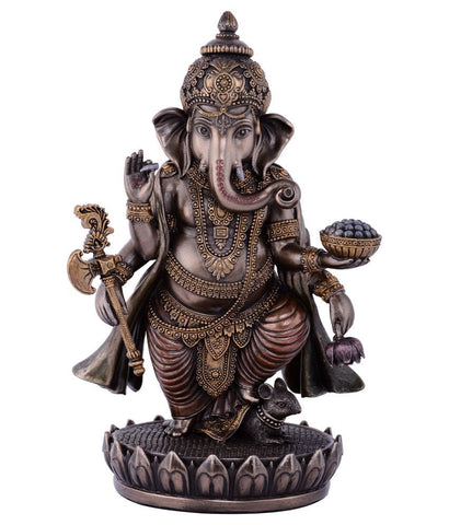 Standing Ganesh Statue - 7.5 Inches