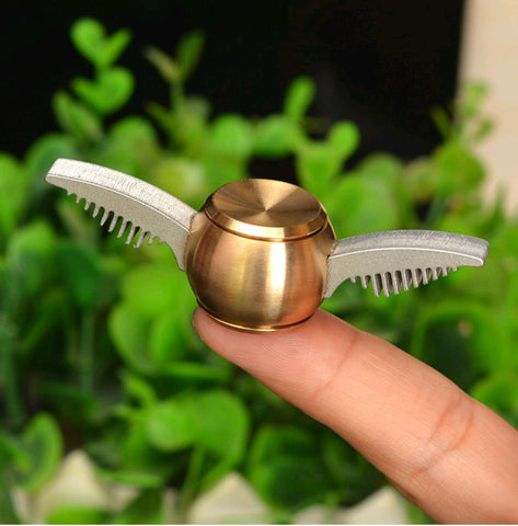 Harry Potter Golden Snitch Fidget Spinner - Stainless steel New!