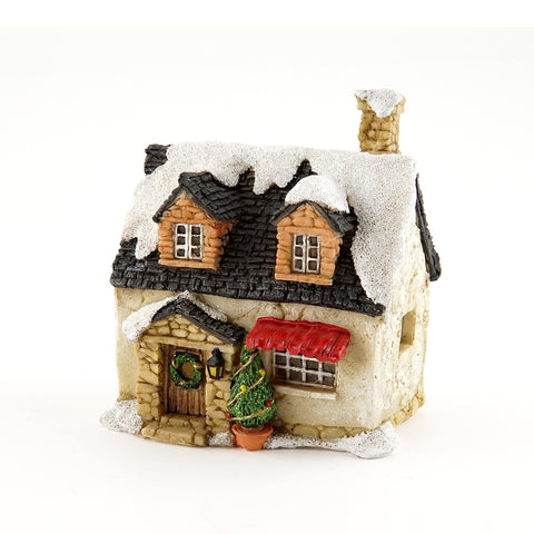 Snowy Cottage Christmas Miniature