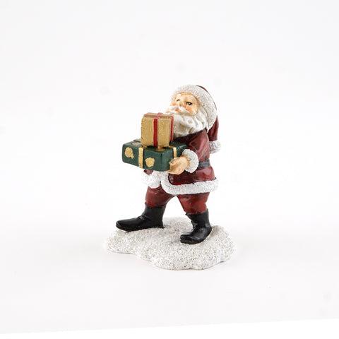 Santa Claus with Christmas Presents Fairy Garden Miniature CLEARANCE