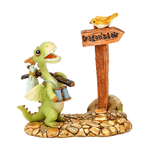 Mini Dragon Scaley Off to The Dragon's Lair Figure