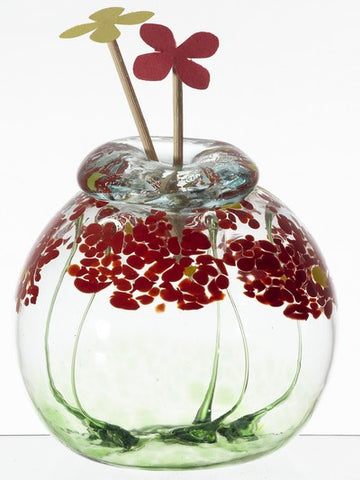 "Blossom Scents 4"" Sitting Diffuser - Greetings"