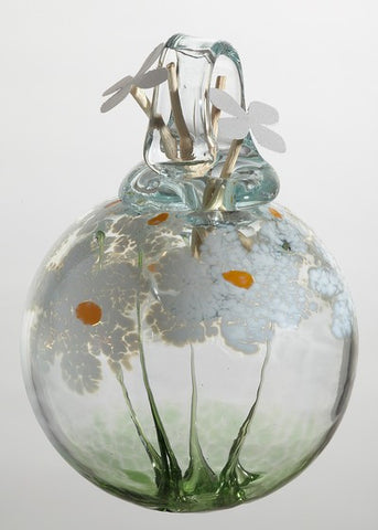 Blossom Scents Diffuser -Friendship- hand blown Art Glass Ornament
