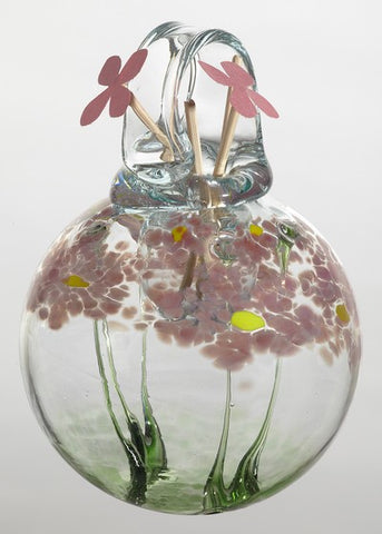 Blossom Scents Diffuser -Romance- hand blown Art Glass Ornament
