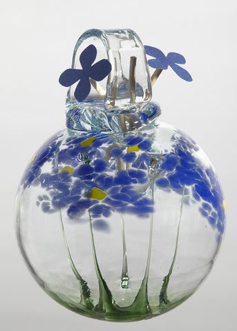 Blossom Scents Diffuser -Thinking of You- hand blown Art Glass Ornament - Cast a Stone