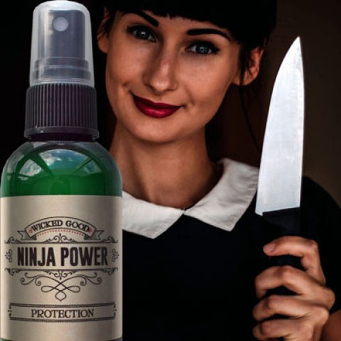 Ninja Power Spray: Protection - Cast a Stone