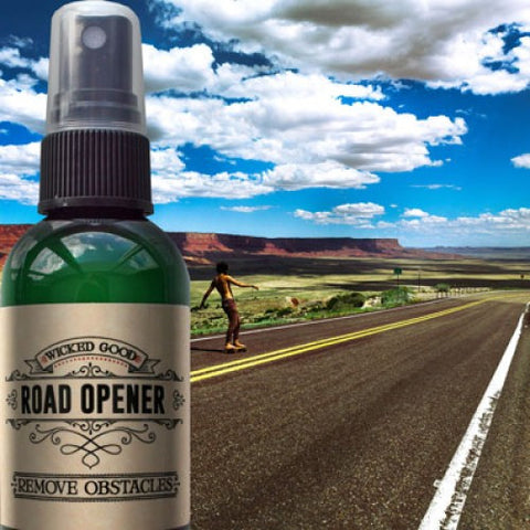 Road Opener Spray: Remove Obstacles - Cast a Stone