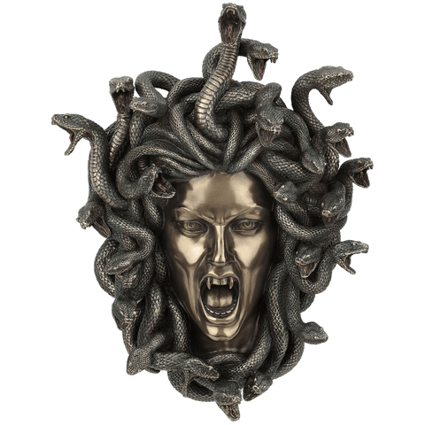 Head of Medusa Wall Plaque